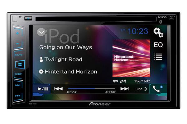 Màn hình DVD cho ô tô Pioneer AVH-X295BT Được phân phối bởi Độ Xe Long Thịnh
