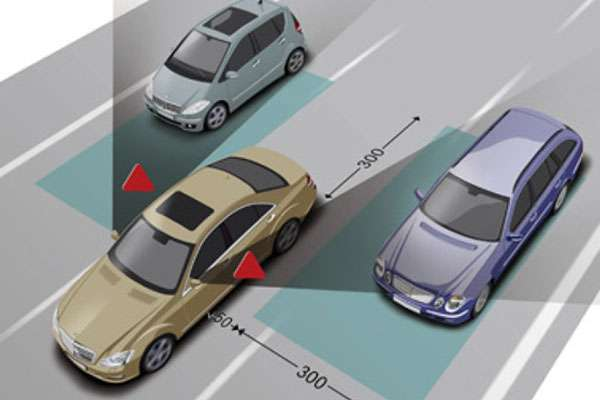 Bộ cảnh báo vượt dành cho Mercedes Benz Được phân phối bởi Độ Xe Long Thịnh_1