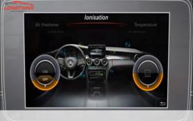 Bộ khử mùi Ion dành cho Mercedes Benz Được phân phối bởi Độ Xe Long Thịnh