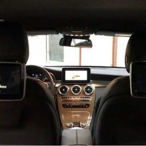 Màn hình gối dành cho Mercedes Benz Được phân phối bởi Độ Xe Long Thịnh